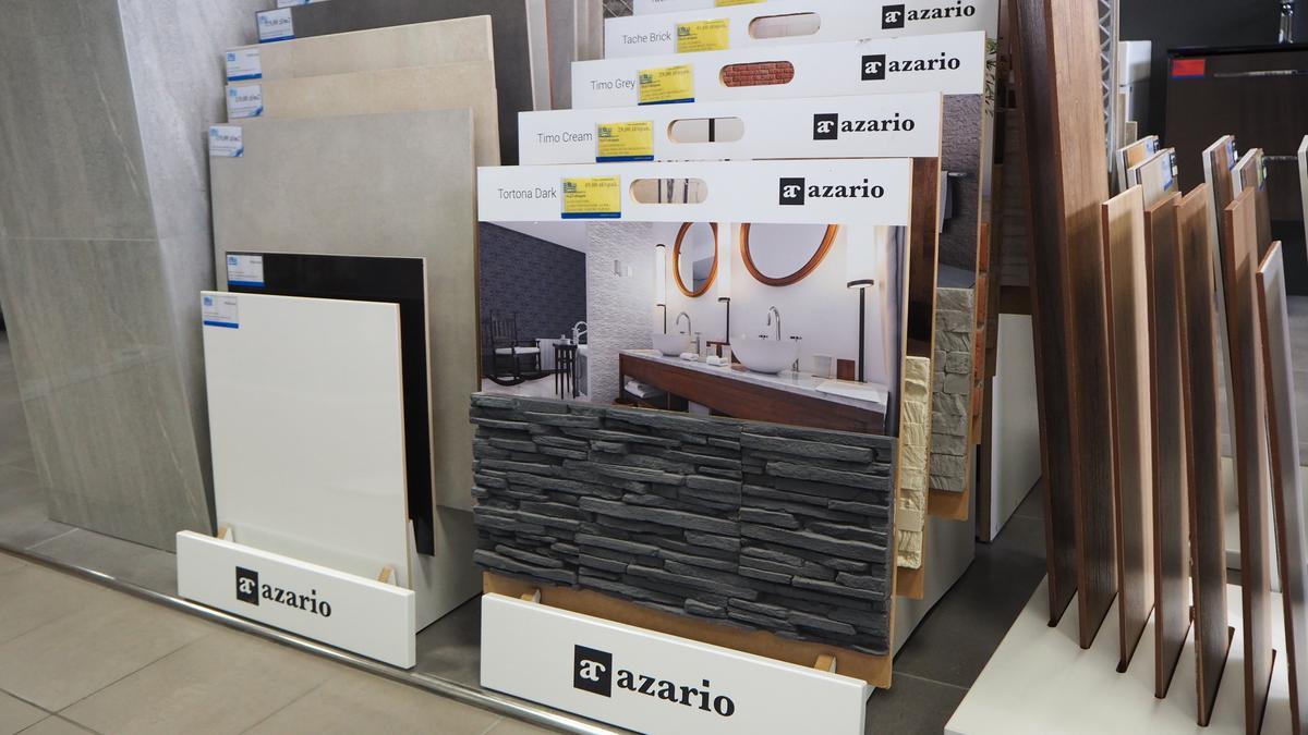 Płytki gresowe i elewacyjne Azario w Salone Łazienek BLU Łomża - zdjęcie od BLU salon łazienek Łomża