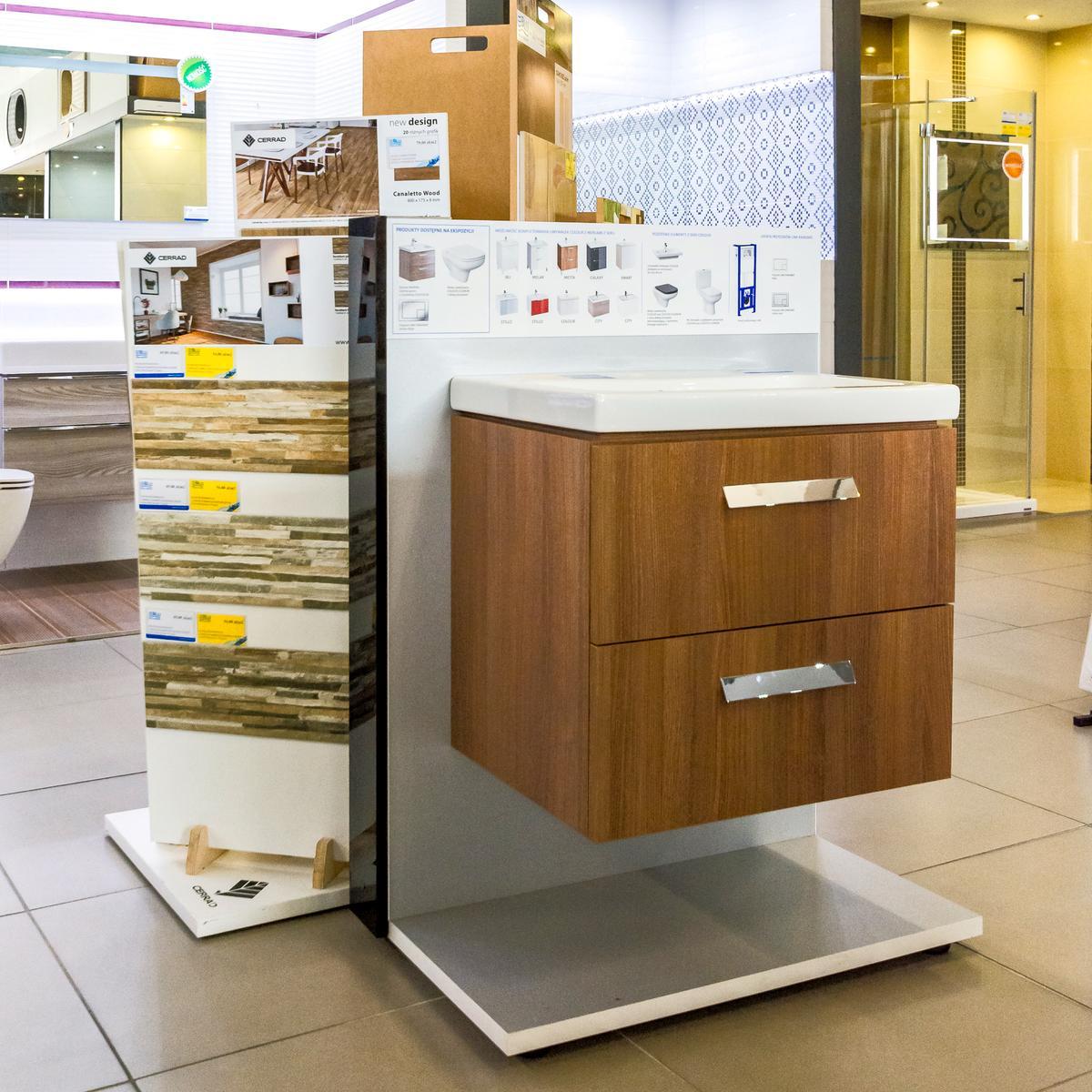 Płytki, meble łazienkowe - szeroki wybór w salonie BLU w Kwidzyniu - zdjęcie od BLU salon łazienek Kwidzyn