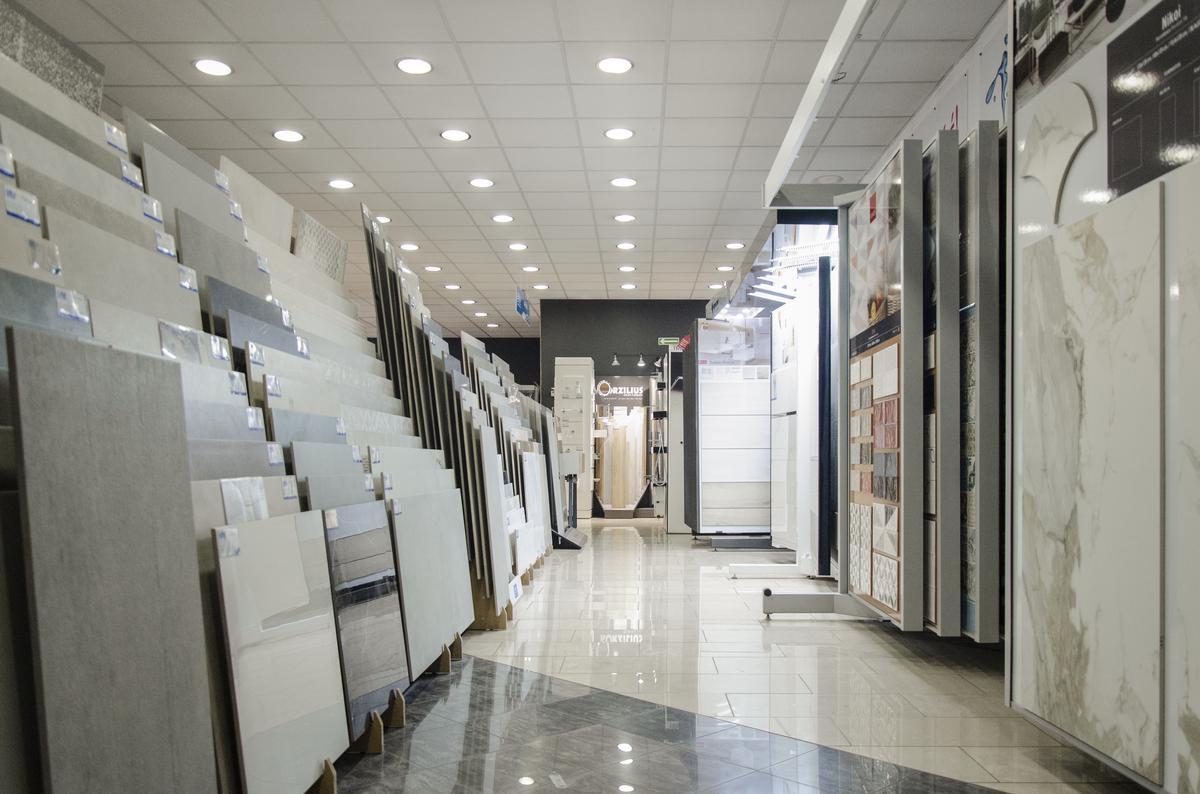Płytki podłogowe w BLU Koszalin - zdjęcie od BLU salon łazienek Koszalin