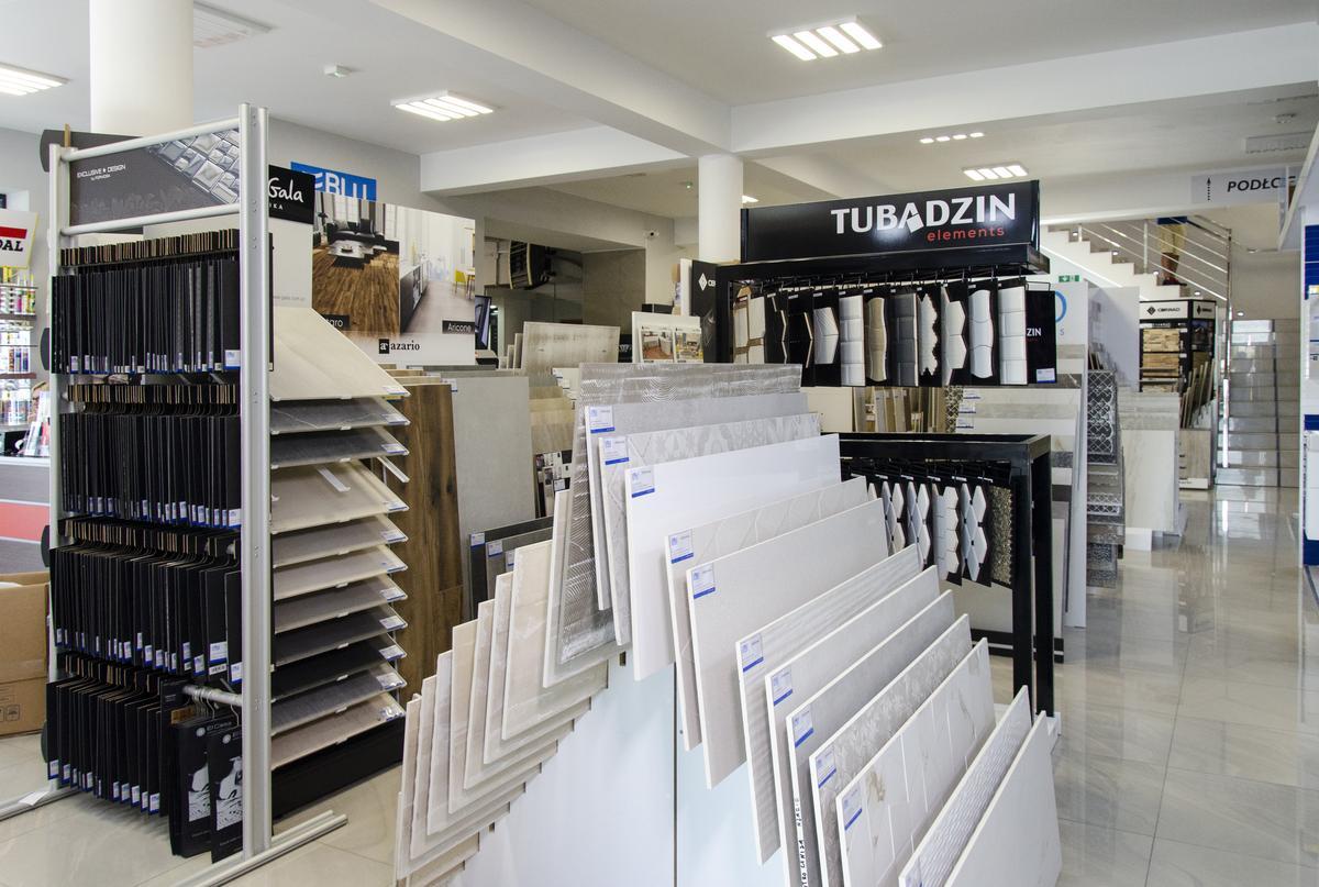 Płytki ścienne i podłogowe w BLU Pułtusk - zdjęcie od BLU salon łazienek Pułtusk