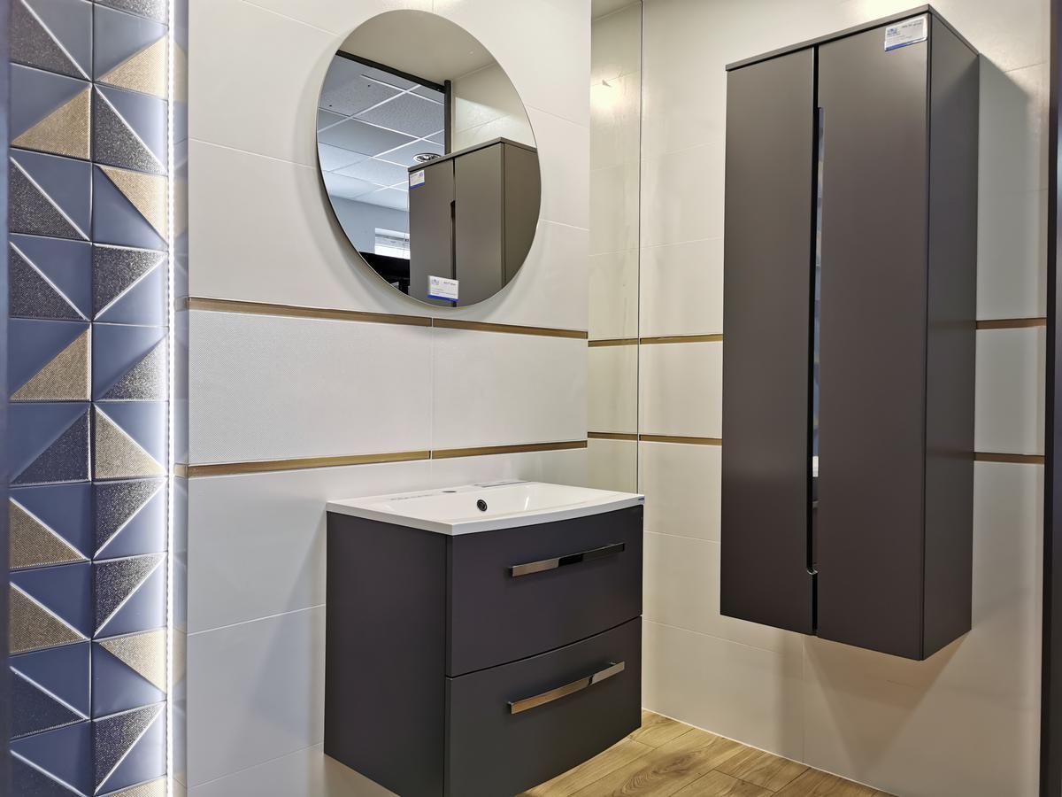 Płytki strukturalne z kolekcji Tubądzin Reflection - zdjęcie od BLU salon łazienek Ciechanów