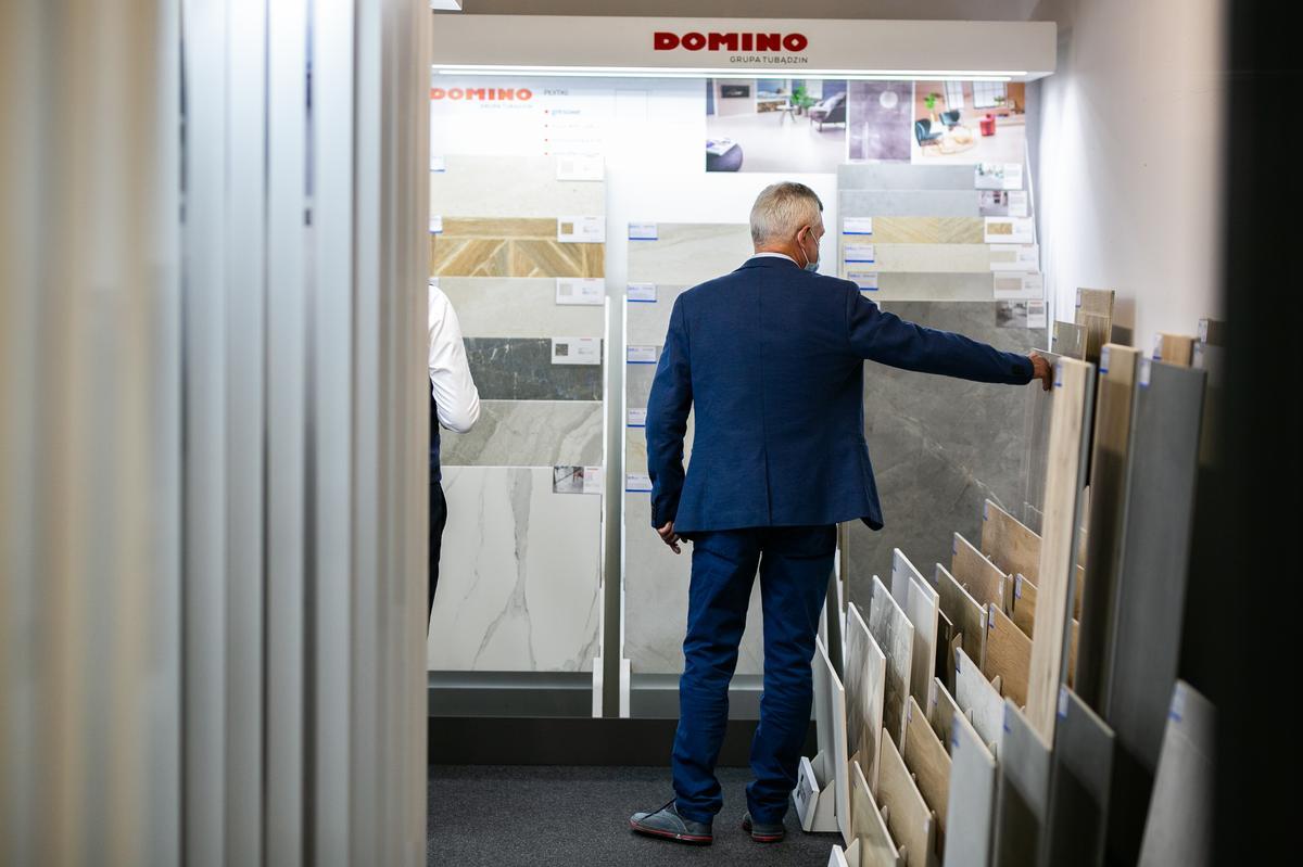 Płytki wielkoformatowe w BLU Zamość - zdjęcie od BLU salon łazienek Zamość