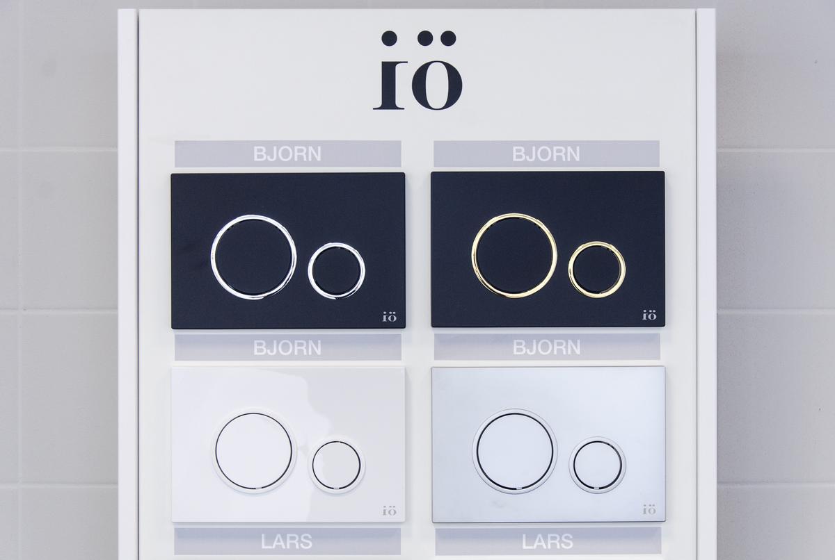 Przyciski spłukujące marki IÖ - zdjęcie od BLU salon łazienek Łowicz