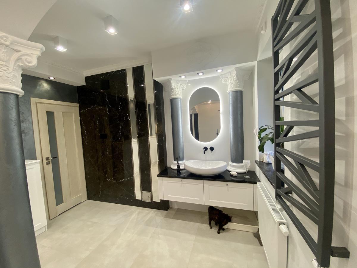 Relizacja łazienki zaprojektowanej przez BLU Łomża - zdjęcie od BLU salon łazienek Łomża
