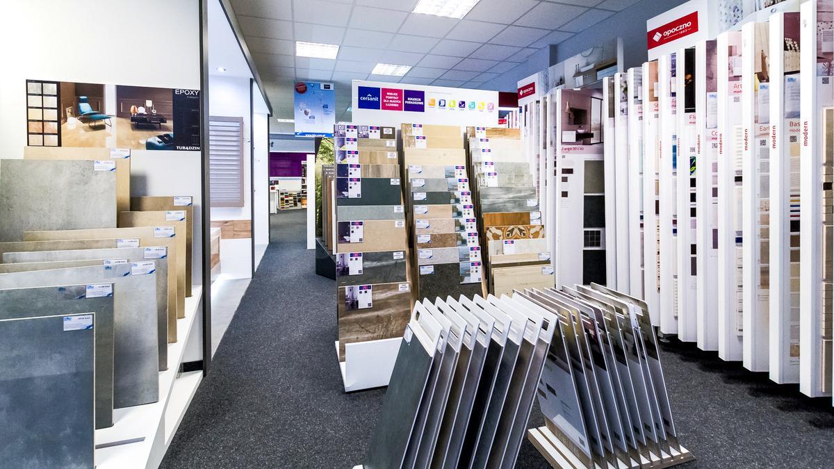 Salony BLU - największy wybór płytek! - zdjęcie od BLU salon łazienek Włocławek