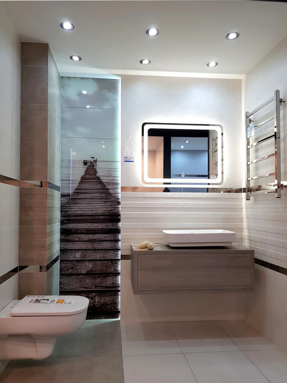 Spokojna aura w kolekcji Tubądzin Blinds - zdjęcie od BLU salon łazienek Cieszyn