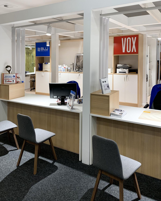 Strefa obsługi Klienta BLU Olsztyn i VOX Olsztyn - zdjęcie od BLU salon łazienek Olsztyn