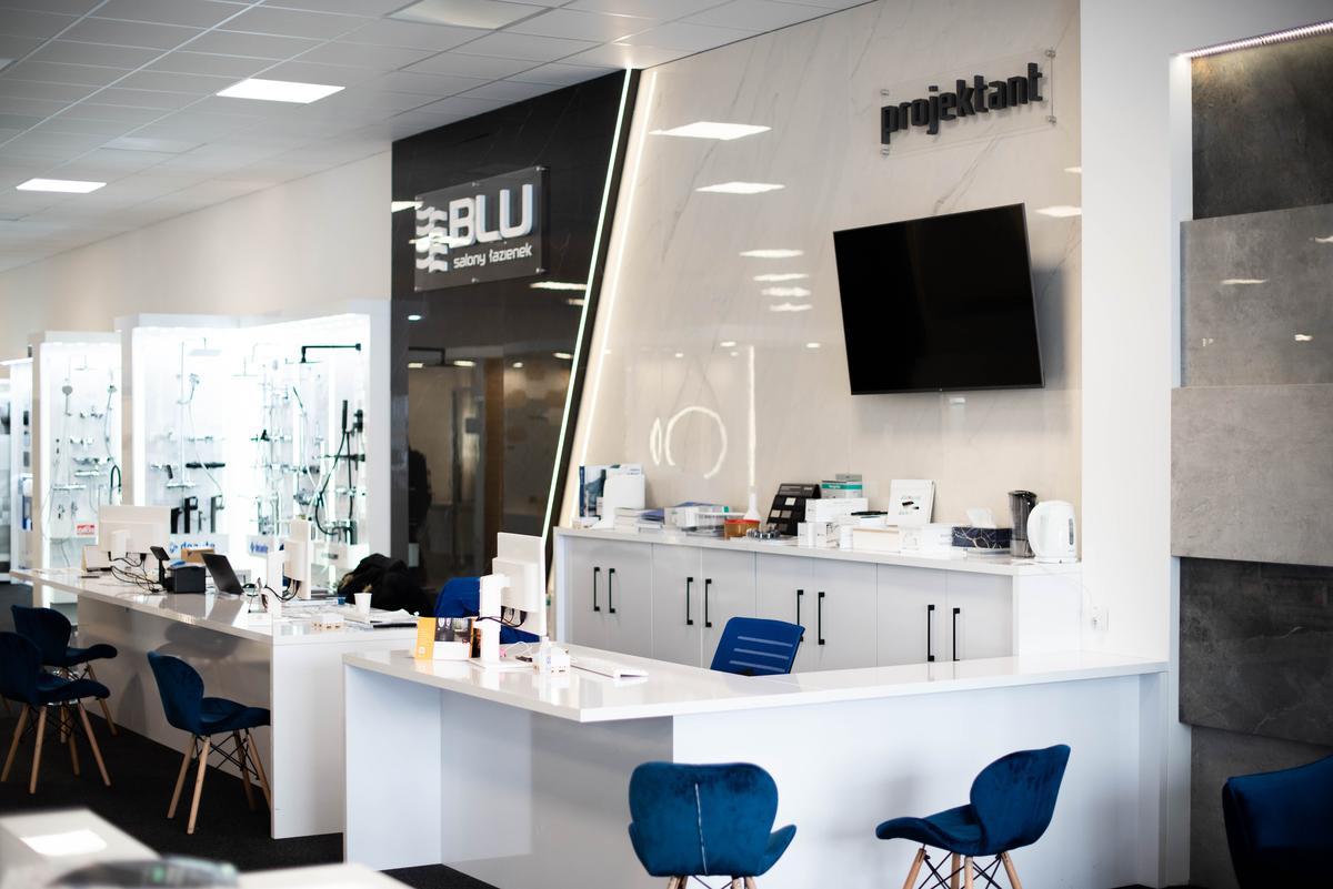 Strefa projektanta w BLU Suwałki - zdjęcie od BLU salon łazienek Suwałki