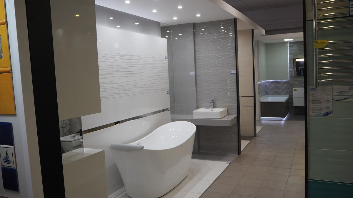 Tubądzin płytki do łazienki Essent i Abisso w BLU Łomża - zdjęcie od BLU salon łazienek Łomża