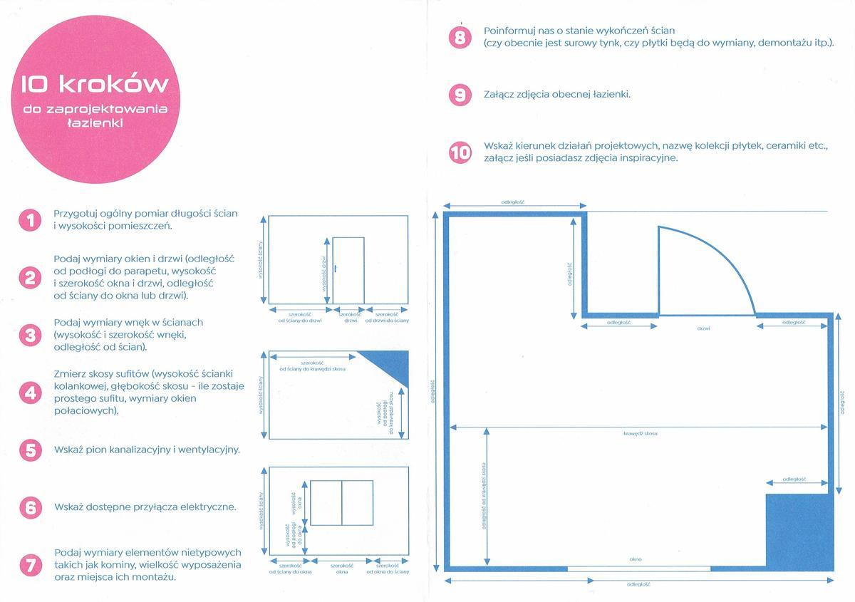 Tylko 10 kroków do zaprojektowania łazienki!  - zdjęcie od BLU salon łazienek Inowrocław
