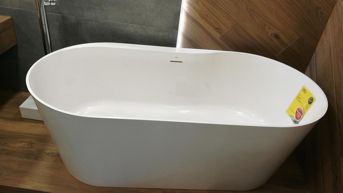 Wanna wolnostojąca Roca Raina - zdjęcie od BLU salon łazienek Siedlce