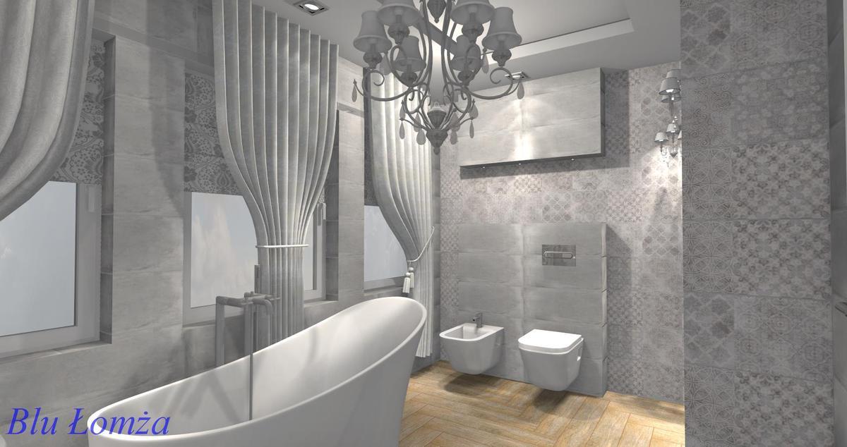 Wizualizacja łazienki Ostrołęka, salon łazienek Blu - zdjęcie od BLU salon łazienek Łomża