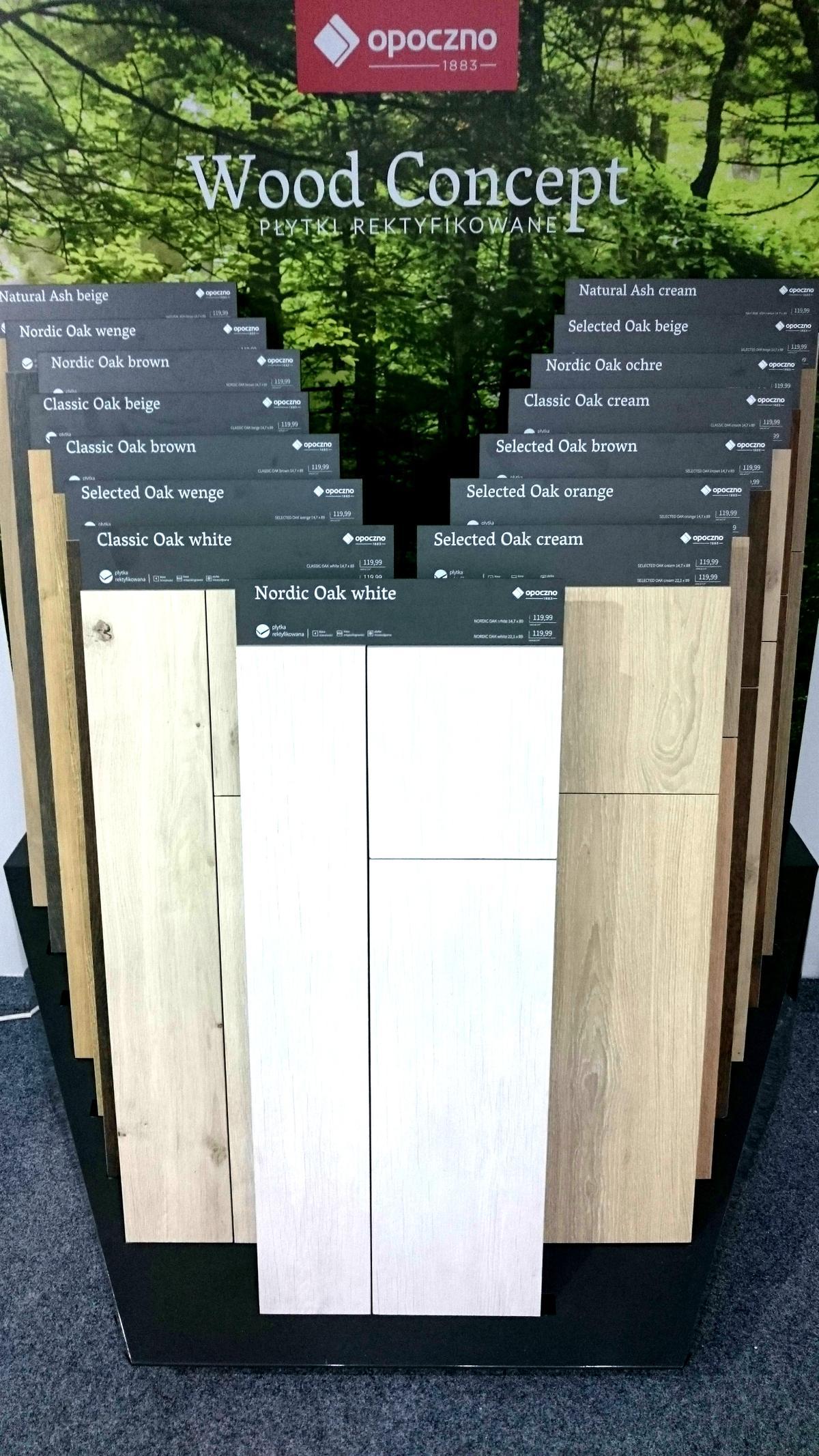 Wood concept płytki rektyfikowane Opoczno - zdjęcie od BLU salon łazienek Rumia