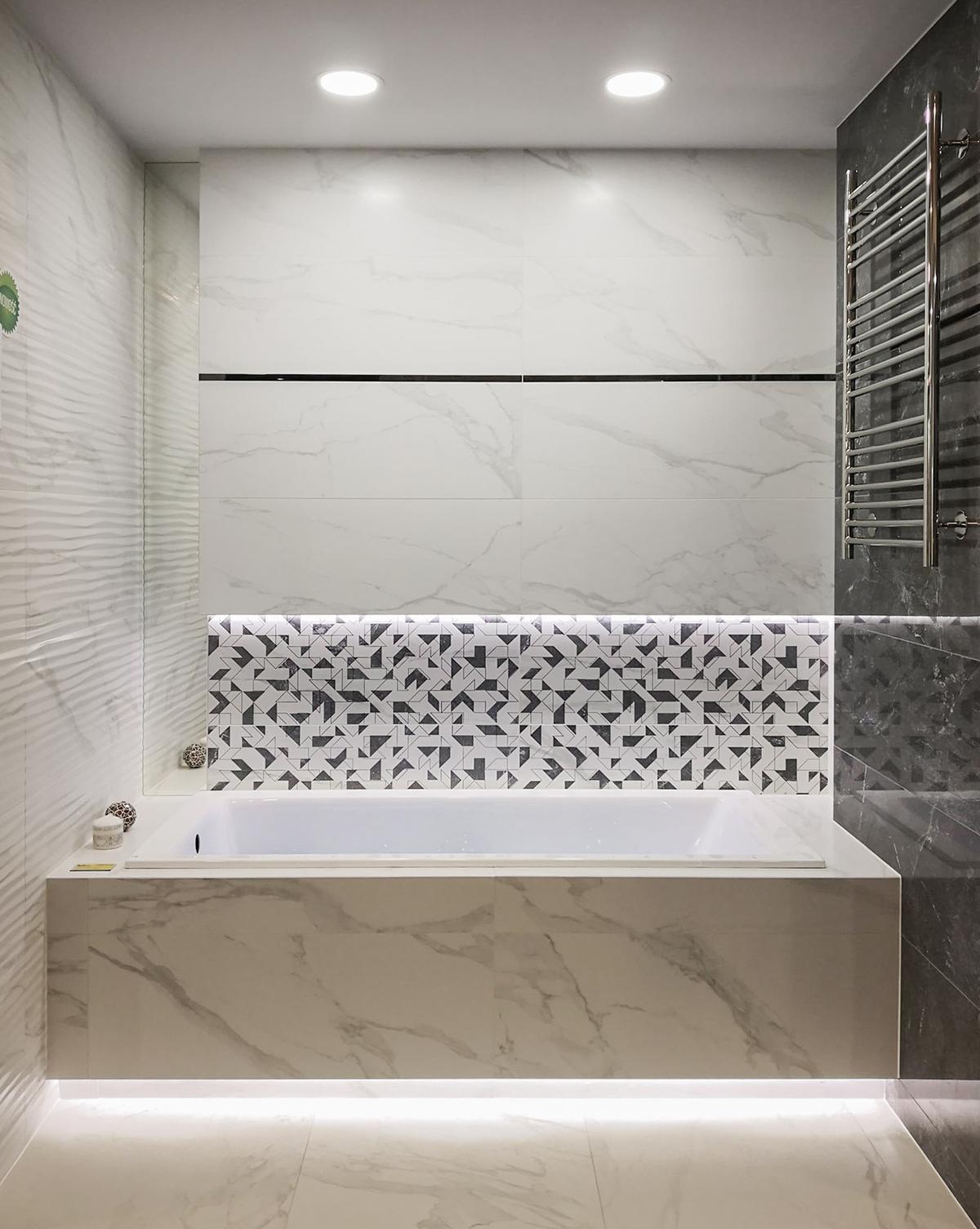 Zabudowana wanna w BLU Chełm - zdjęcie od BLU salon łazienek Chełm