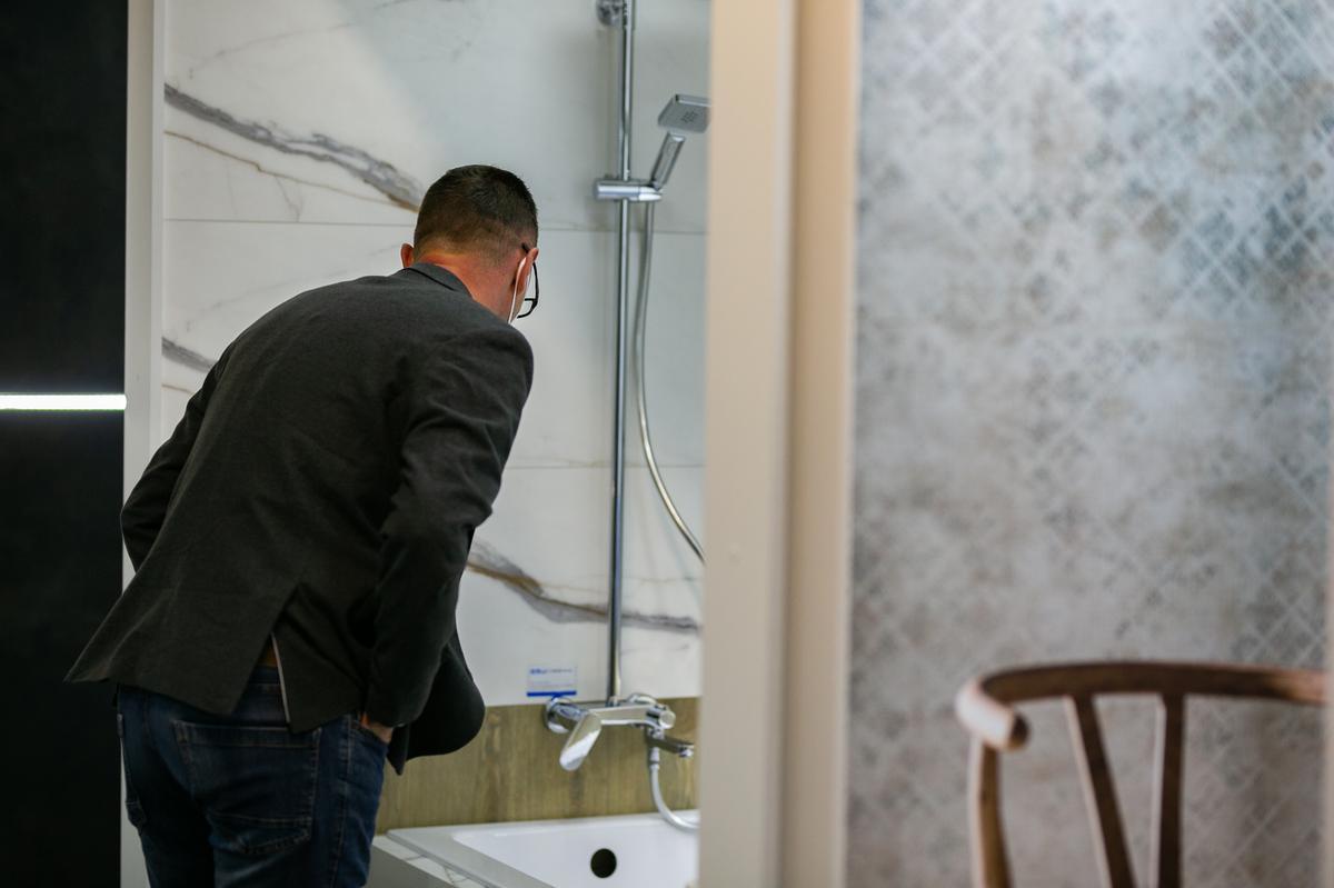 Zestawy prysznicowe w BLU Zamość - zdjęcie od BLU salon łazienek Zamość