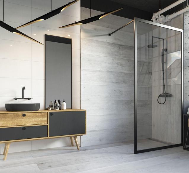 Dlaczego warto wybrać kabinę prysznicową Walk-In?