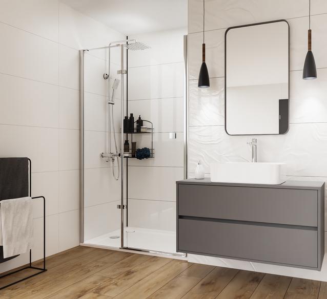 Praktyczna łazienka: aranżacja strefy umywalkowej