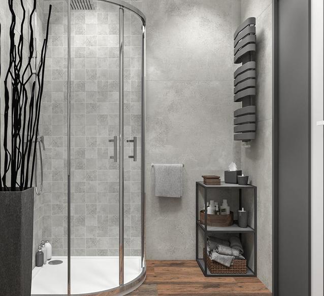 Prysznic w narożniku